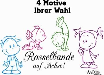 Autoaufkleber Baby Kinder Geschwister 4 Wunschtext