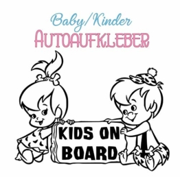 "Autoaufkleber Baby Kinder ""Kids on Board"""