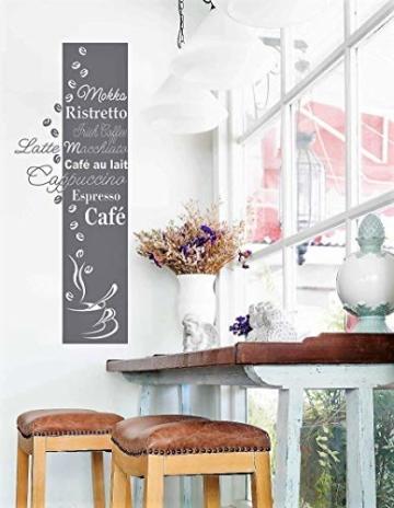 wandtattoo k che esszimmer kaffee banner wandtattoos. Black Bedroom Furniture Sets. Home Design Ideas
