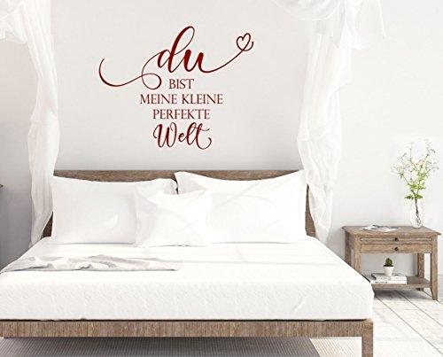 """Wandtattoo Schlafzimmer """"Du Bist Meine Kleine Perfekte"""