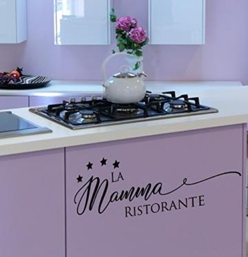 Wandtattoo Küche Spruch ***La Mamma Ristorante*** - Wandtattoos