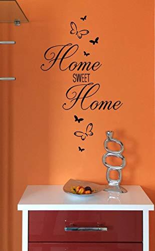 """Wandtattoo Wohnzimmer Flur """"Home sweet Home"""""""